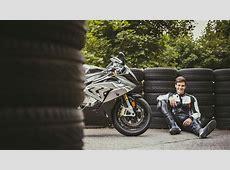 Wincent Weiss auf dem Rheinring BMW Motorrad