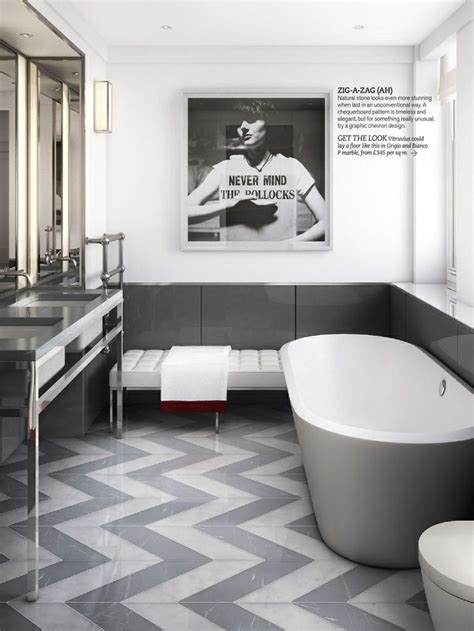 best 25 gray chevron bathroom ideas on pinterest