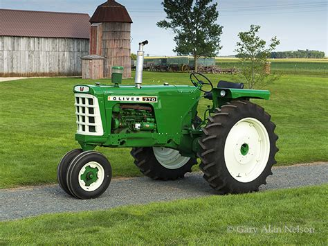 1964 Oliver 770 Row Crop : AT-12-92-OL : Gary Alan Nelson ...