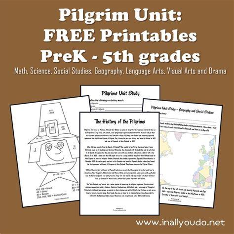 Pilgrim Unit Free Printables  Language, Free Printables And Geography