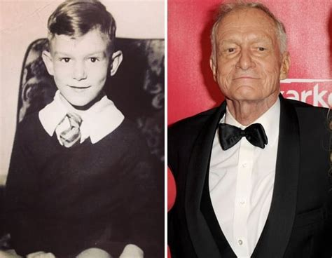 Hugh Hefner as a Kid - The Hollywood Gossip