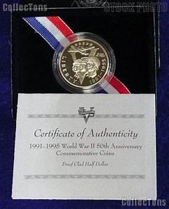 1991-1995 World War II 50th Anniversary Commemorative Clad ...
