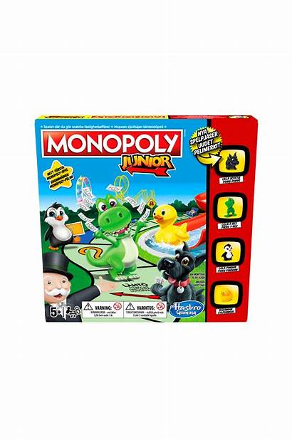 Junior Monopol Hasbro Monopoly Ellos Barn Pussel