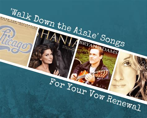 50 stunning songs to walk down the aisle to. Our Favorite 'Songs to Walk Down The Aisle': Perfect For Vow Renewals