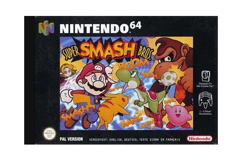 super smash bros n64 rom free download