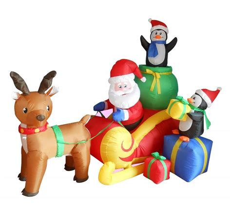 Halloween Airblown Inflatables Walmart by Outdoor Christmas Decorations Reindeer Christmas