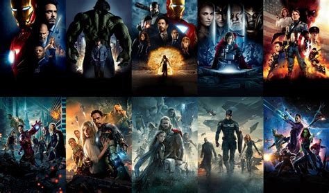 ranking universo cinematografico de marvel
