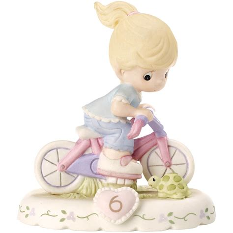 Precious Moments Growing In Grace Age 6 Blonde Figurine