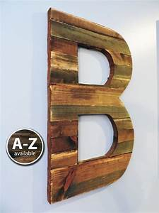 large wood letters rustic letter cutout custom wooden wall With wooden wall letters large