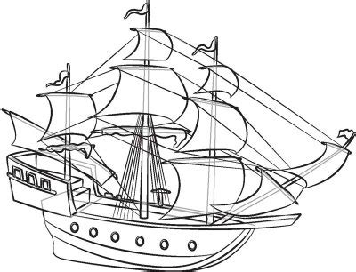 How To Draw A Boat Race by How To Draw Pirate Ships Howstuffworks