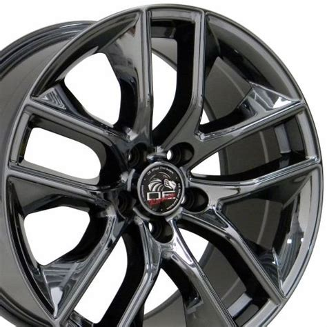purchase  fits ford  mustang gt style wheels black