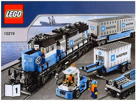 Lego 10219 Maersk Train Bricktrainssets