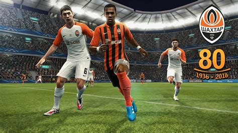 pes 2013 shakhtar donetsk kits 2016 17 quot 80 years quot by vulcanzero pes patch