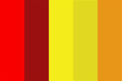 colors for new years new year rooster color palette