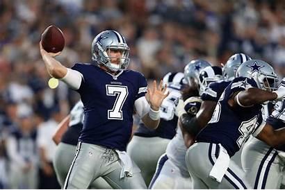 Cowboys Dallas Cooper Rush Getty Quarterback Sign