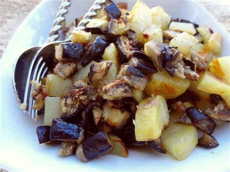 pommes de terre et aubergines au four la tendresse en