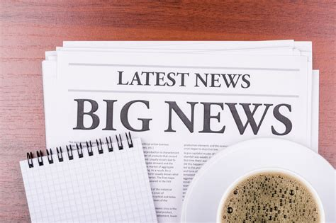 What the pros recommend as the best brew? The newspaper BIG NEWS and coffee