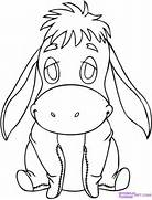 How to Draw Baby Eeyore  Step by Step  Disney Characters  Cartoons      How To Draw Baby Disney Characters