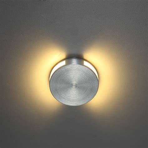 halo round recessed 1 watt led wall light