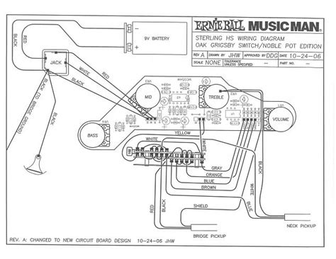 musicman sterling hs parallel wiring