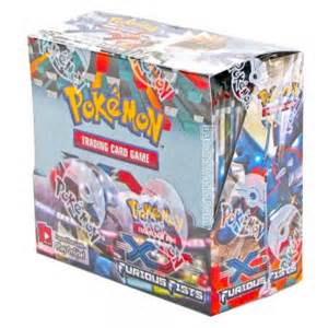 pokemon pokemon sealed booster box 36 packs xy furious fists p