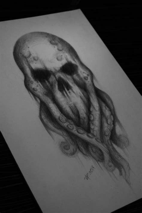 Octopus skull by ZVilka on DeviantArt