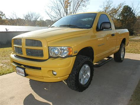 2005 Dodge Ram 1500 Reg Cab 4x4 For Sale In Canton Tx From