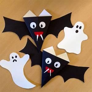 Basteln Halloween Mit Kindern : halloween basteln mit kindern halloween bat ghost halloween pinterest ~ Yasmunasinghe.com Haus und Dekorationen