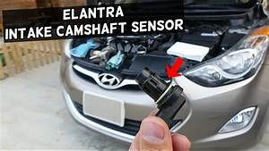 How To Replace Intake Camshaft Position Sensor On Hyundai