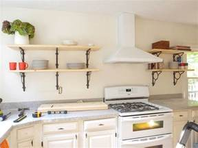 kitchen wall shelves ideas diy wall shelves for more organized interior