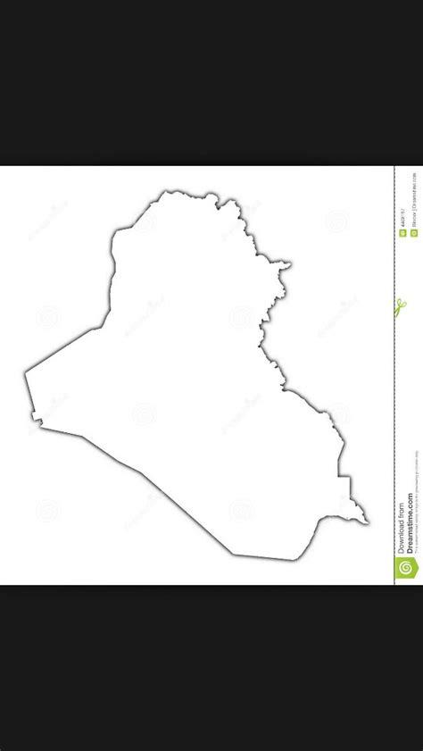 Iraq Outline Map Tattoo Projekt Att Testa Pinterest