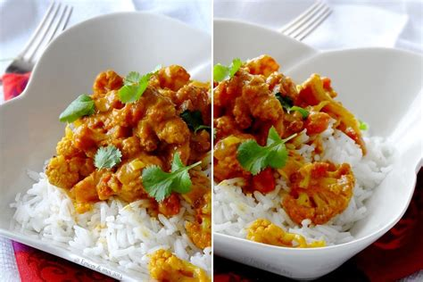 lait de coco cuisine riz au chou fleur façon tikka massala épices moi