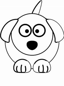Dog Face Clipart Black And White | Clipart Panda - Free ...