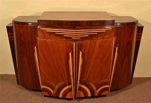Regent antiques cabinets art deco 1920s style rosewood for Kitchen cabinets lowes with art nouveau wall sconce