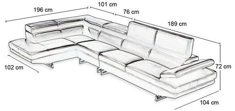 taille canape canape d 39 angle sur mesure