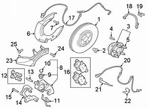 Jaguar Xe Disc Brake Rotor  Brakes  Left  Liter