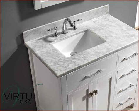 Bathroom Vanity With Offset Sink, Virtu Usa Single