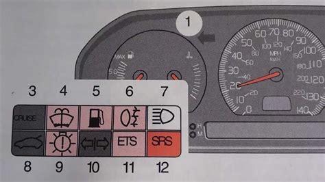 volvo   airbag srs warning light turn   youtube