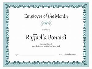 Employee Certificate Templates Free Certificates