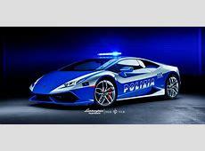 Lamborghini Palm Beach Launches Huracán Police Car