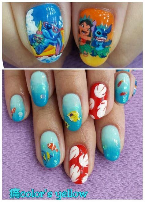 colors  disney nails nail art designs nails