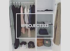 Project 333 Capsule Wardrobe Closet by meikemite on