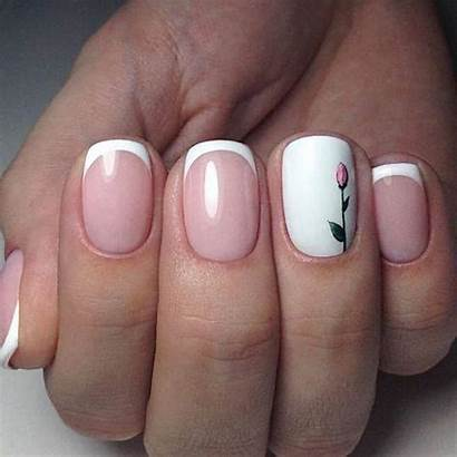 Tip French Nail Nails Manicure Pretty Tulips