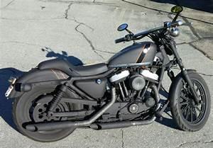 2001 Sportster Hugger 883 Harley Davidson Motorcycle