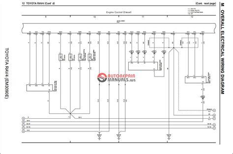 toyota rav  wiring diagram auto repair manual forum