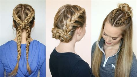 gorgeous sporty hairstyles for summer the hairstyles