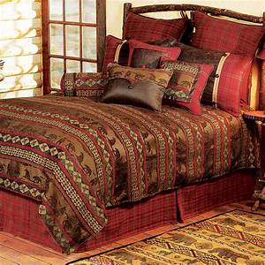 Rustic, Bedding, Twin, Size, Cascade, Lodge, Bed, Set