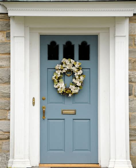 the front door 21 cool blue front doors for residential homes