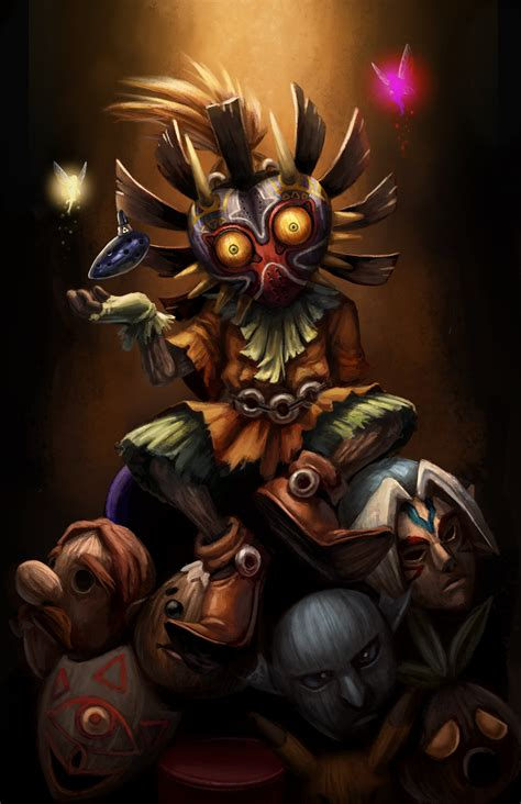 Majoras Mask By Ashleycassaday On Deviantart