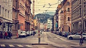 Full HD Wallpaper innsbruck street old city austria ...